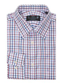 Cuxwold twill check shirt