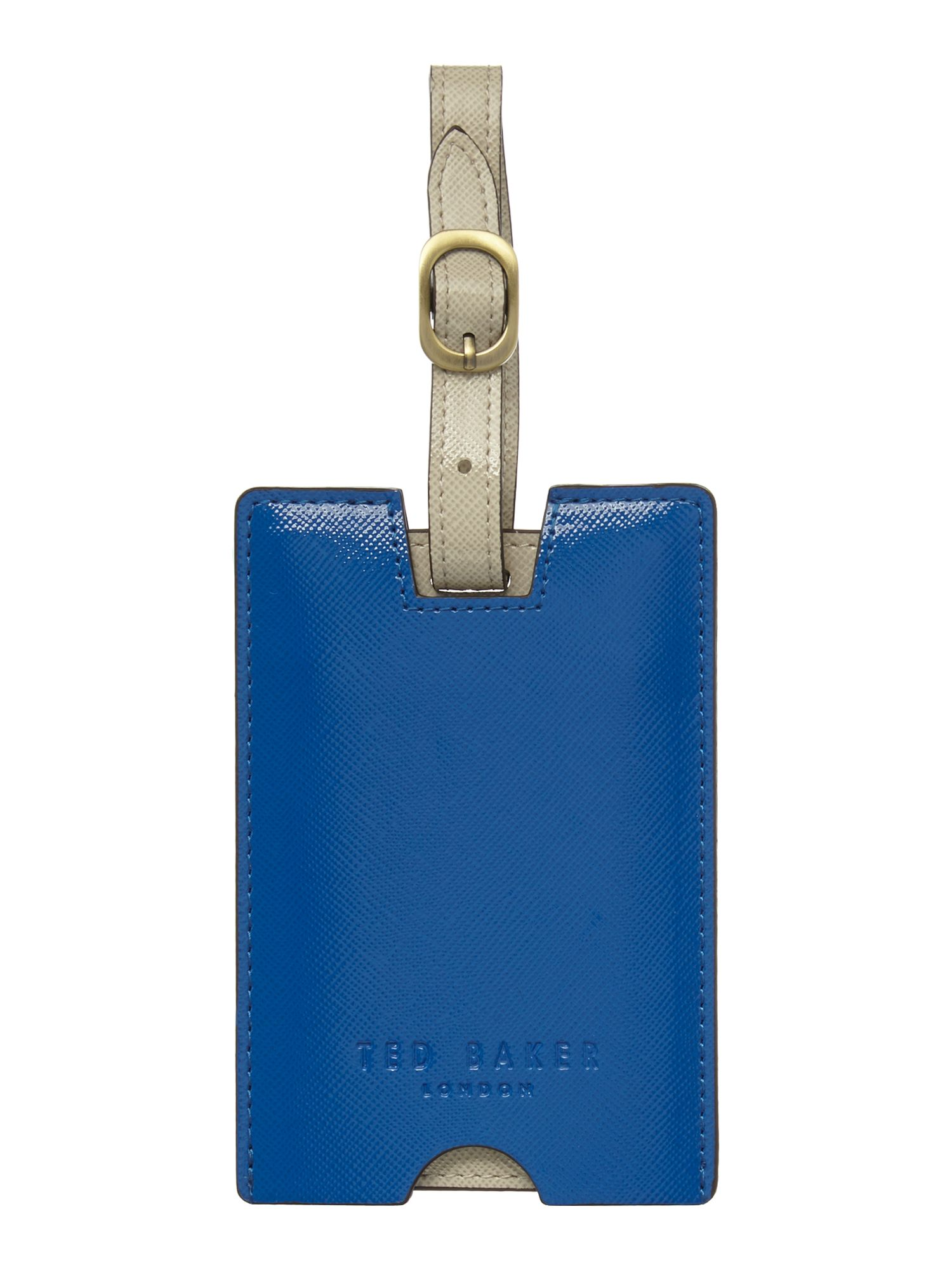 Highlight piping luggage tag