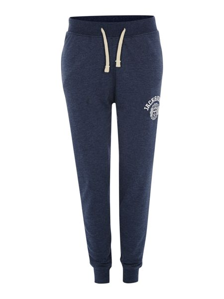 Jack & Jones Athletic logo tracksuit bottoms