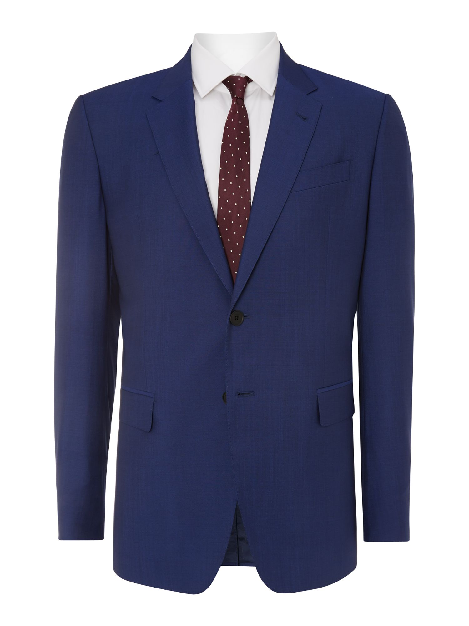 Byard slim fit wool mohair solid suit