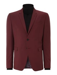 Paul Smith London Kensington extra slim fit wool mohair solid suit