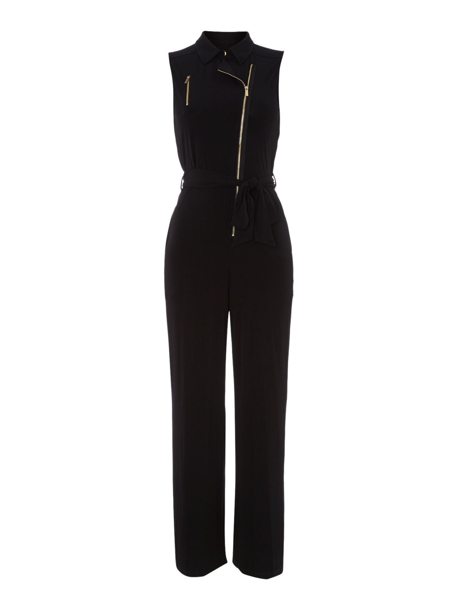 Jersey Jumpsuit with zips