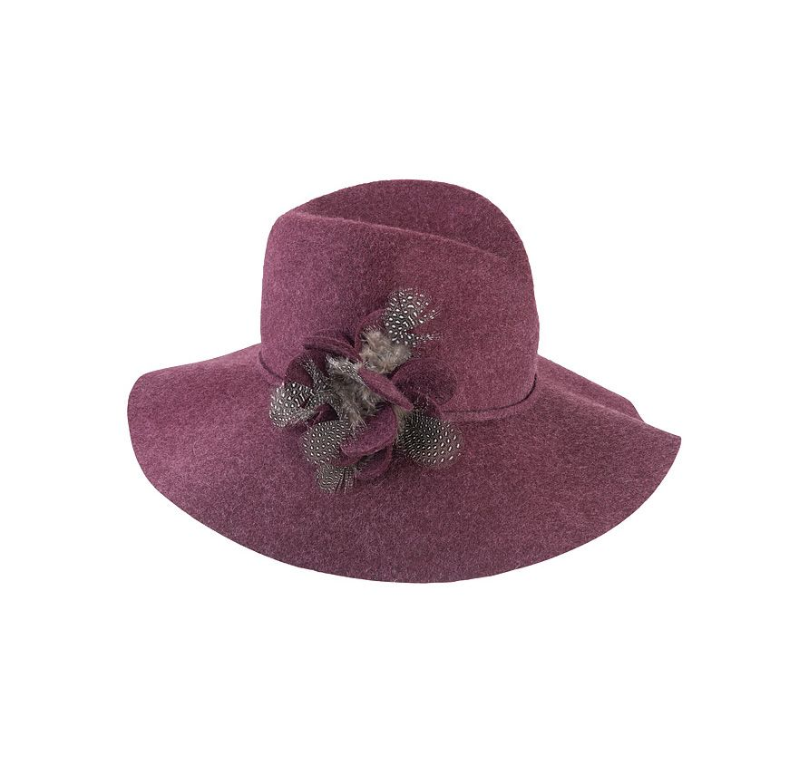 Cheviot wool hat