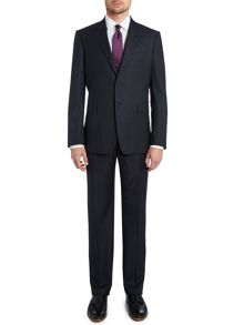 Byard slim fit basket weave suit