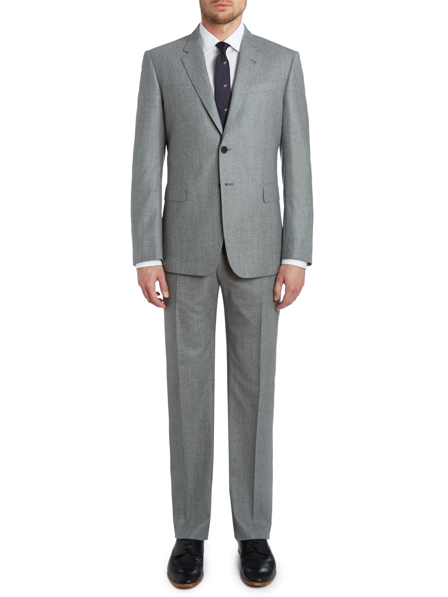 Byard slim fit solid suit