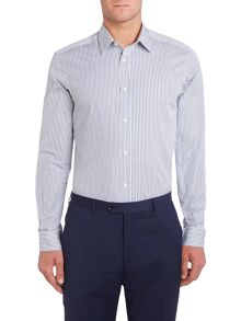 Parioncino thin stripe shirt