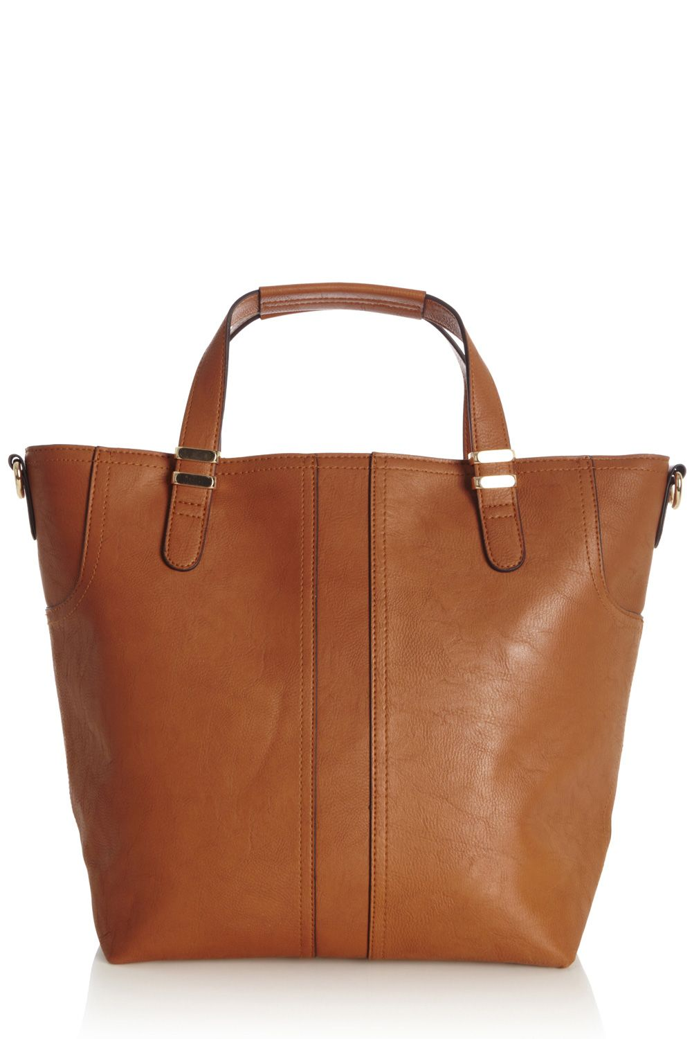 Formed panel shopper bag