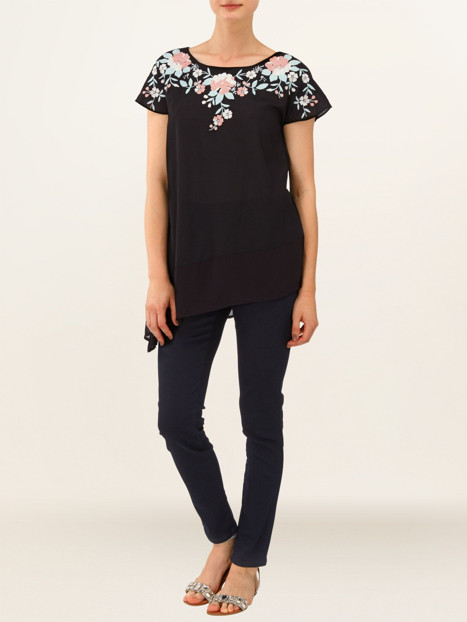 Malena embroidered top