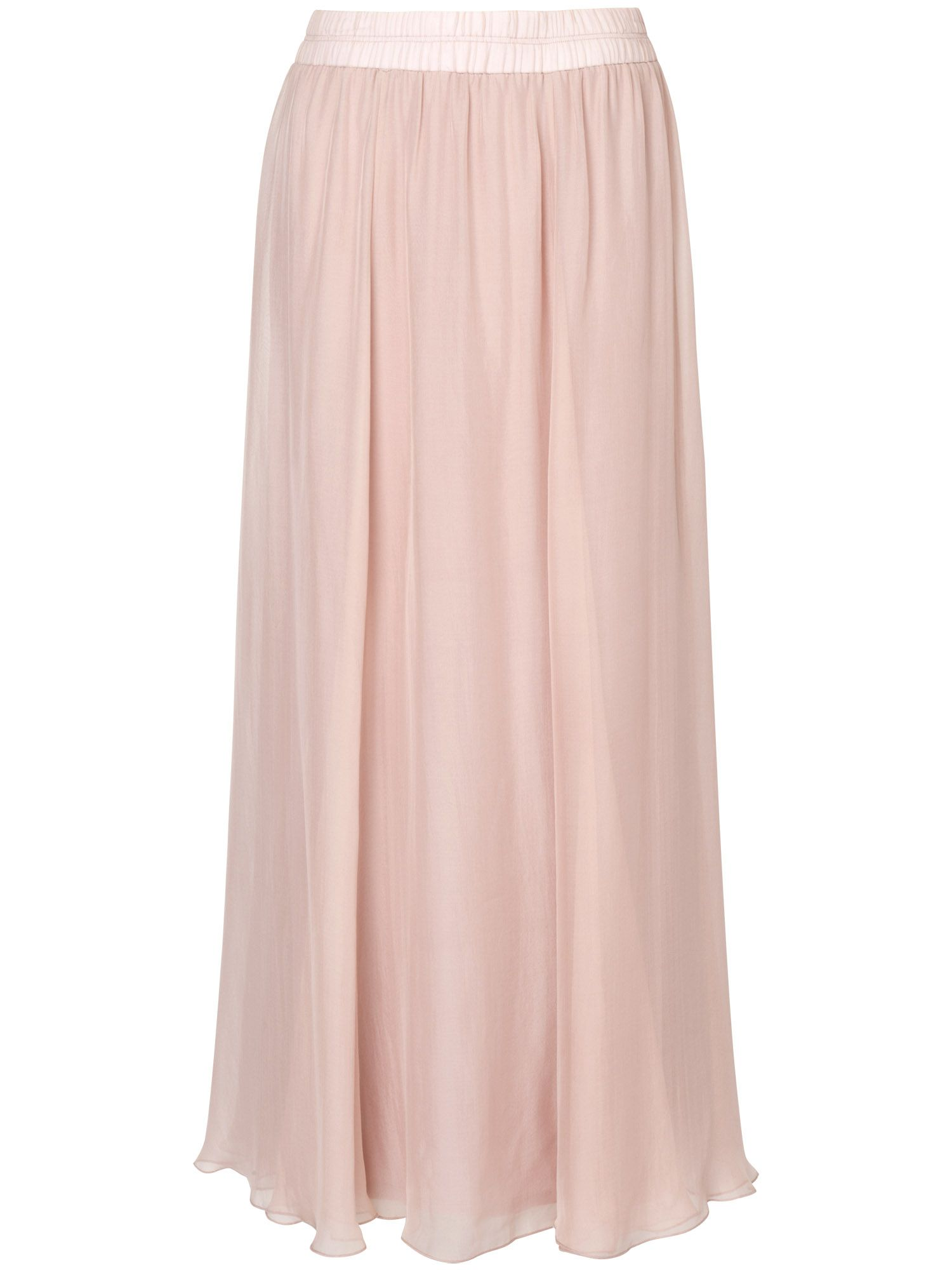 Iona silk maxi skirt