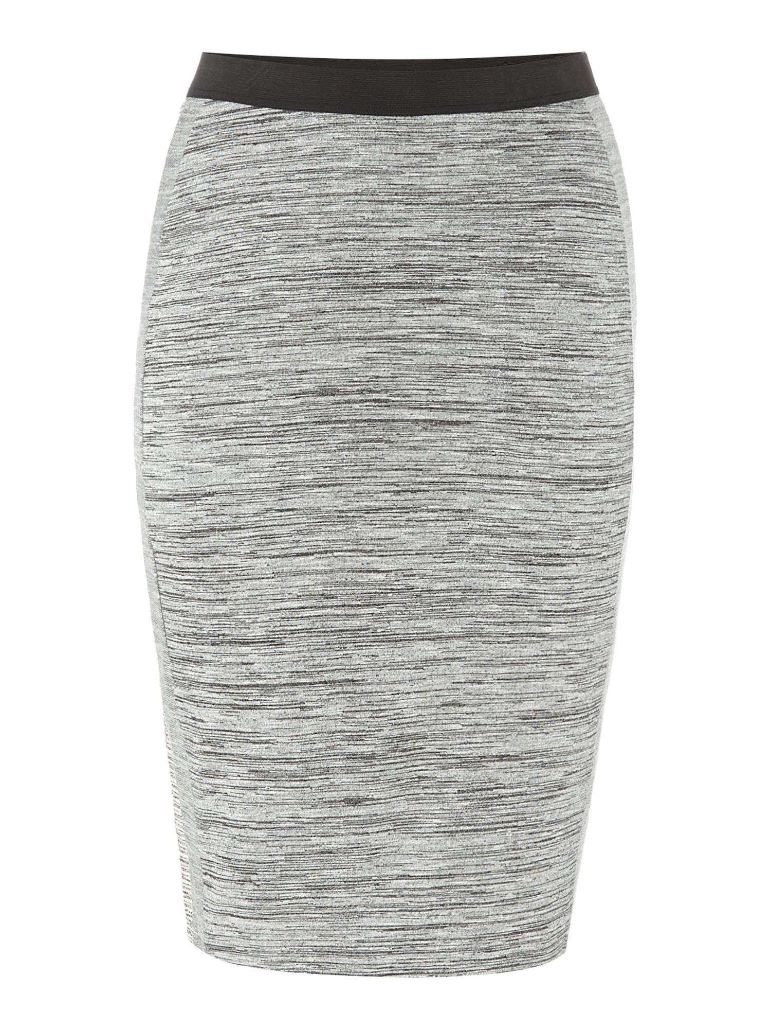 Bodycon below knee skirt