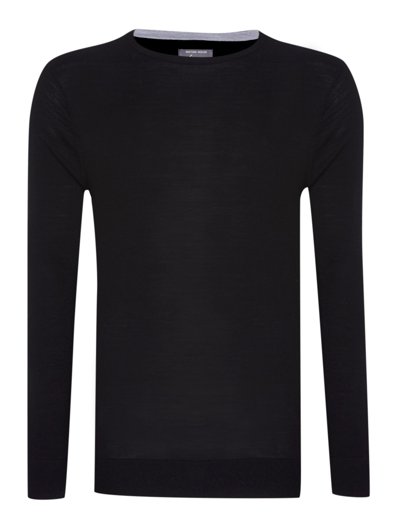 Prestwick crew neck washable merino