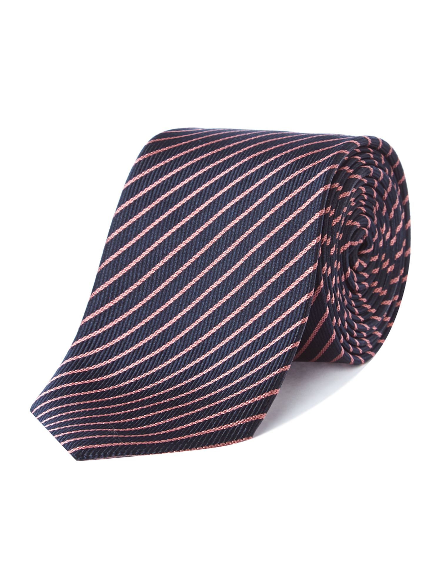 Extra slim think stripe tie