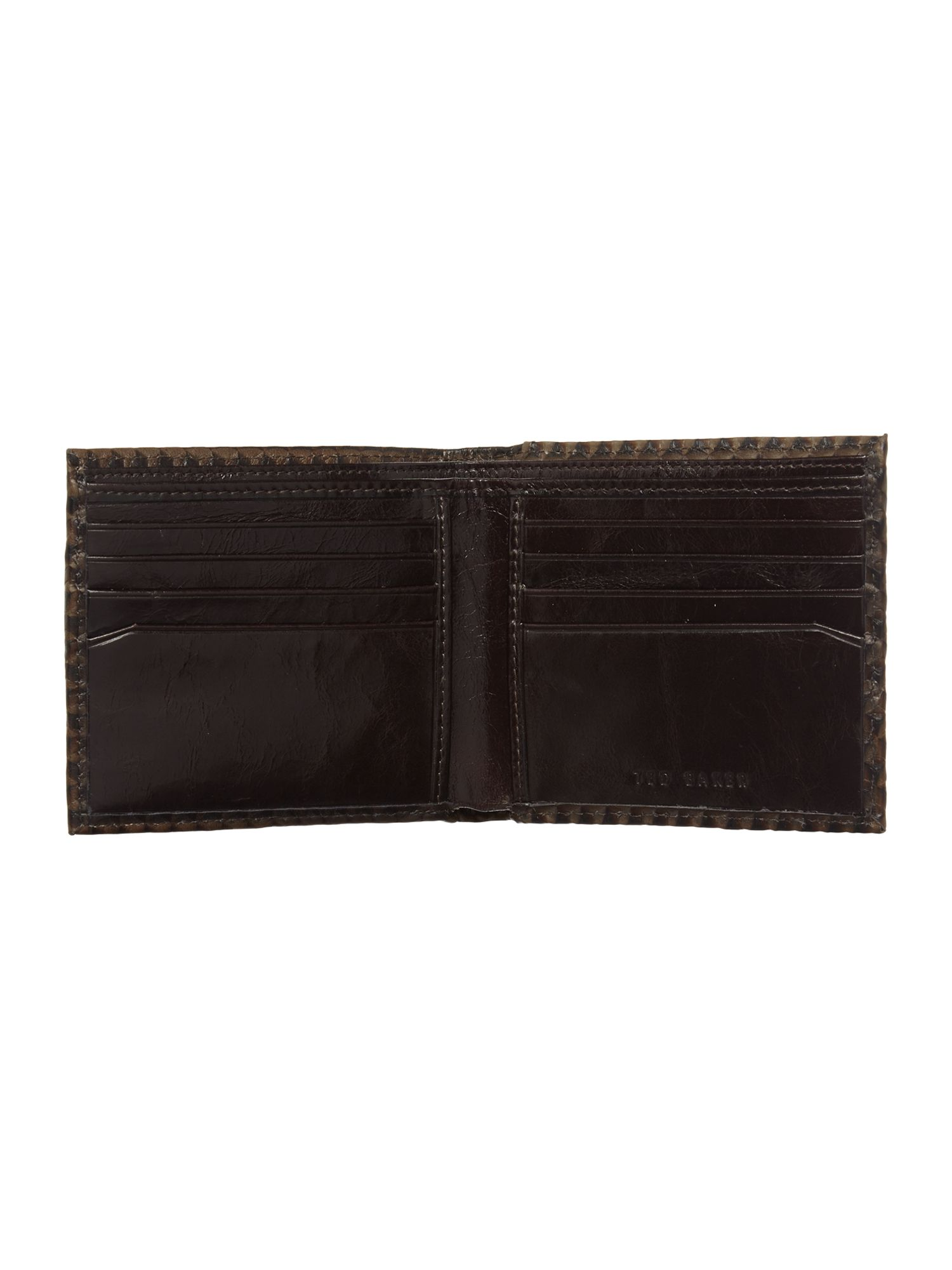 Bifold wallet with removable card gift set