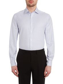 TM Lewin Check slim fit long sleeve shirt