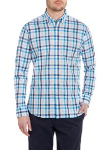 TM Lewin Check long sleeve casual shirt