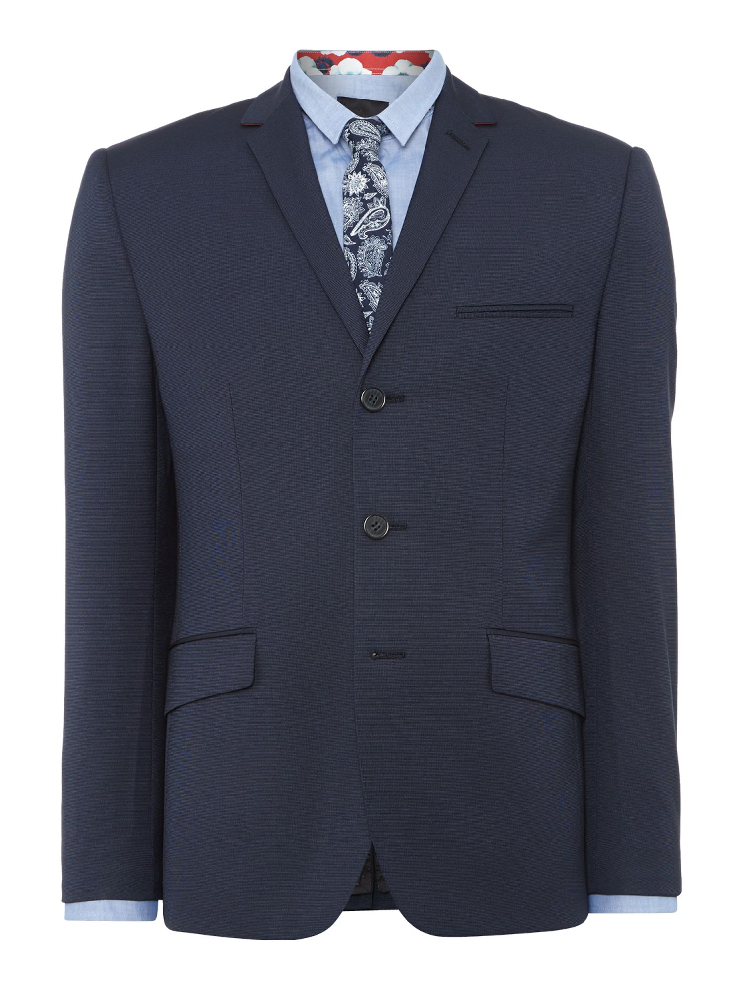 Harrison needle single breasted blazer