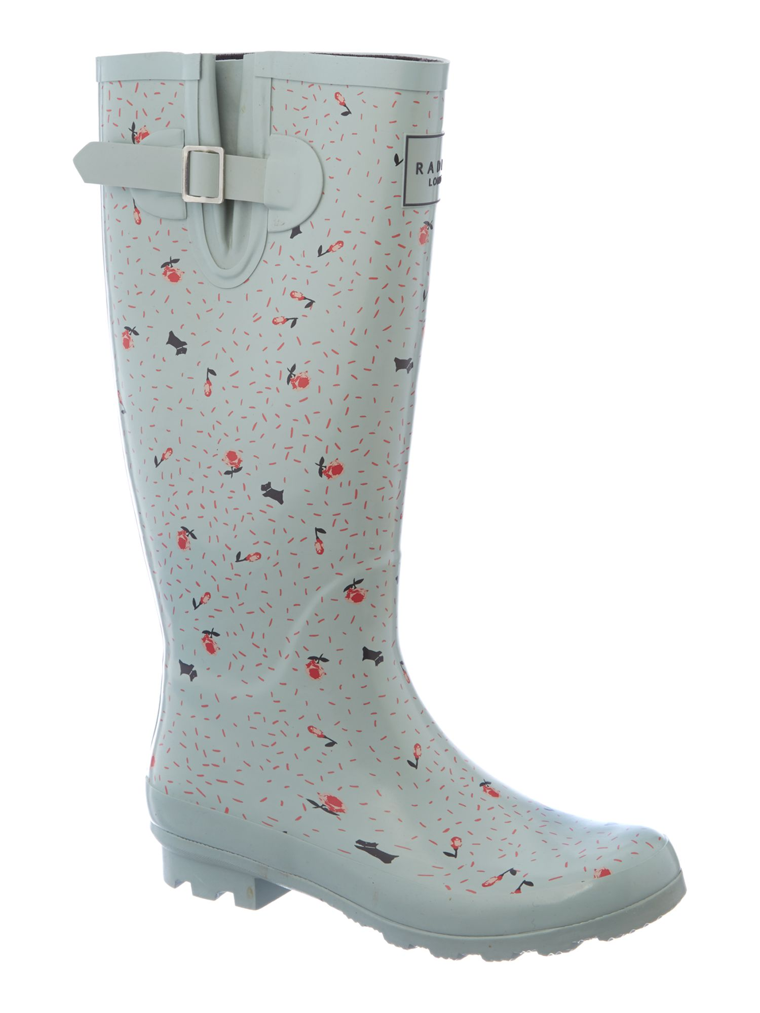 Emerson tall wellington boot