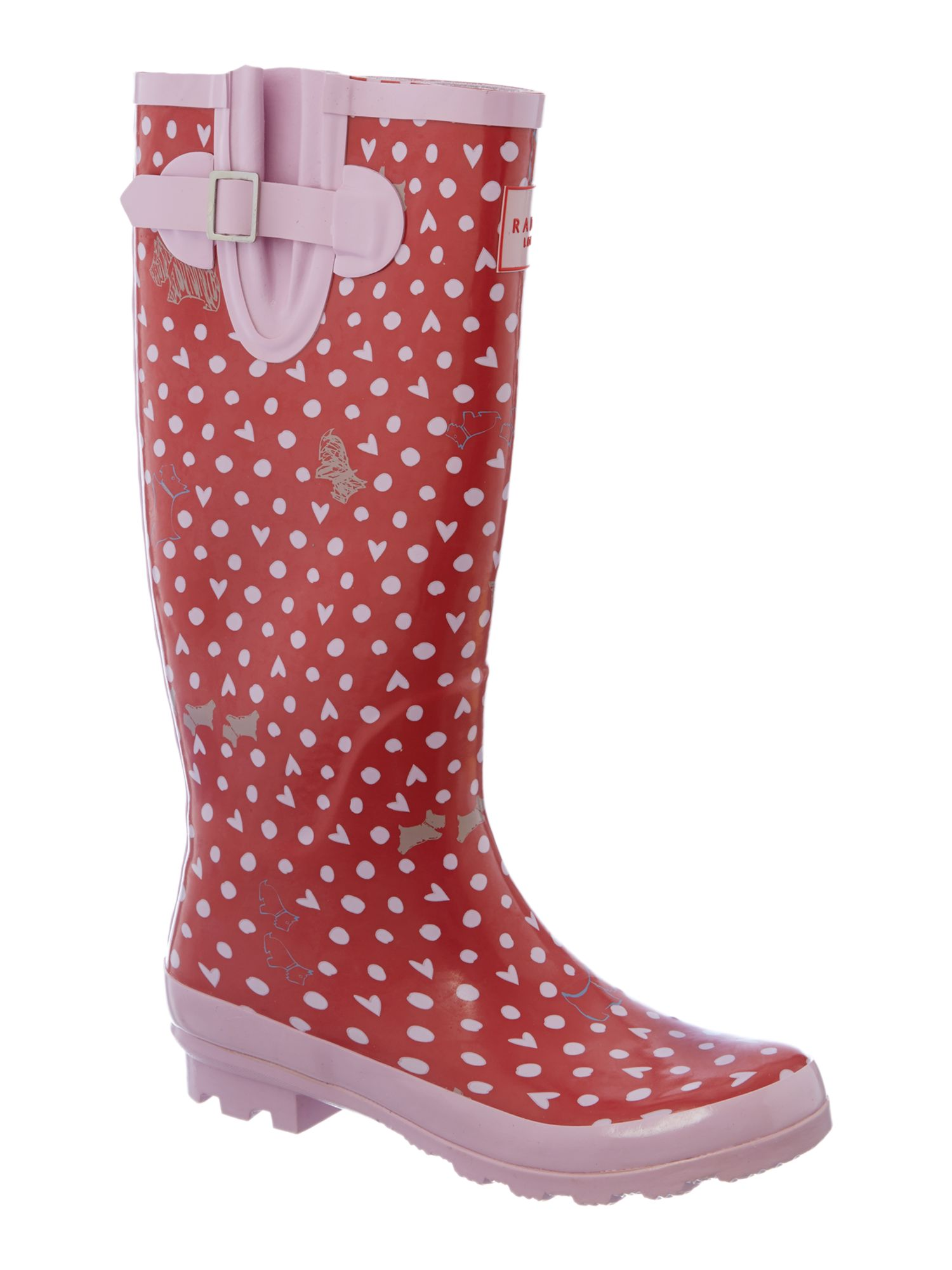 Hibbert dog tall wellington boot