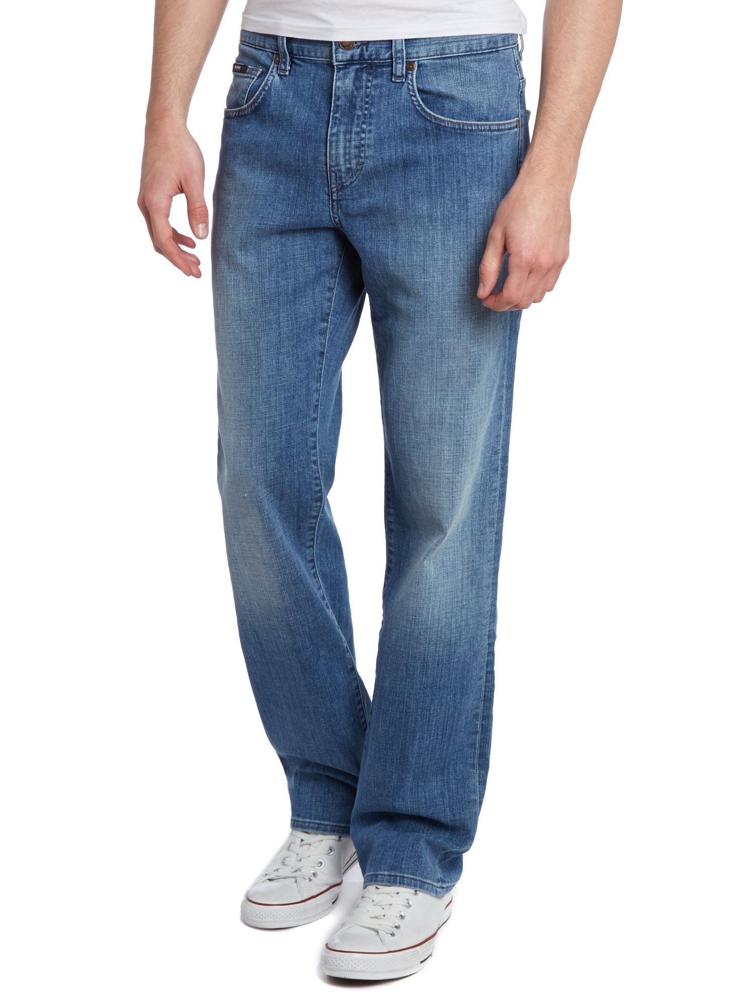 Kansas wash regular straight leg jean