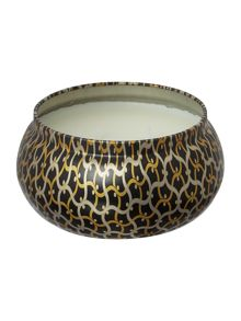 Voluspa Ambre Lumiere 11oz 2 wick candle in printed tin