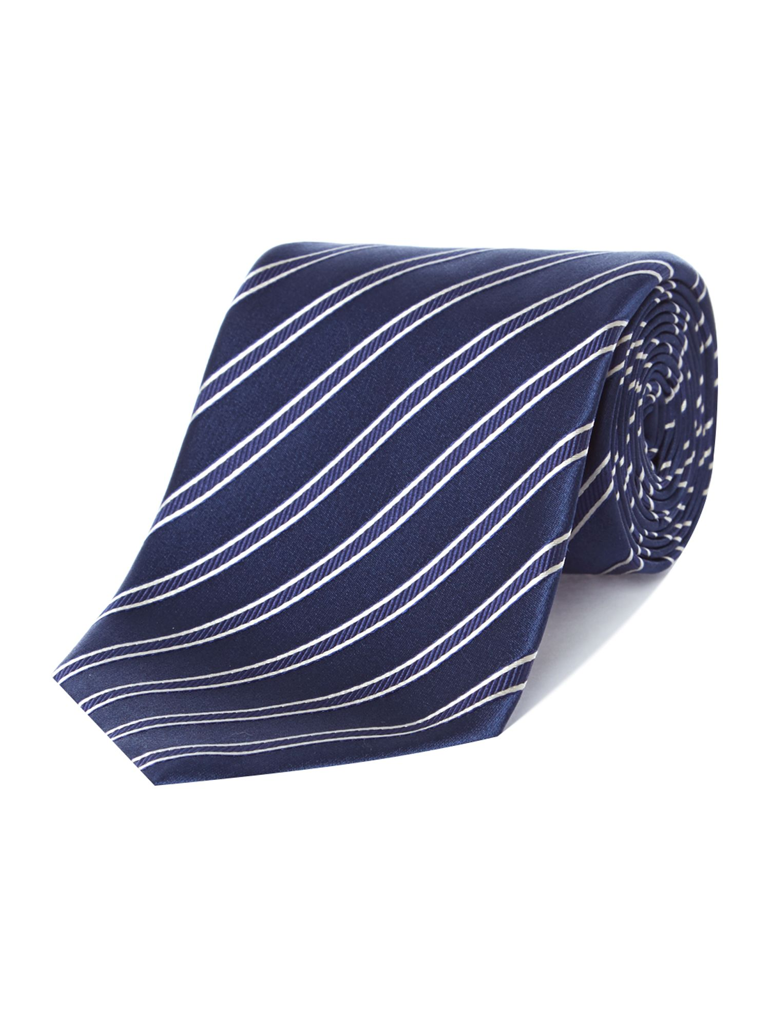 Regular stripe tie