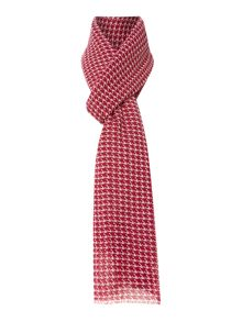 Houndstooth cotton modal scarf