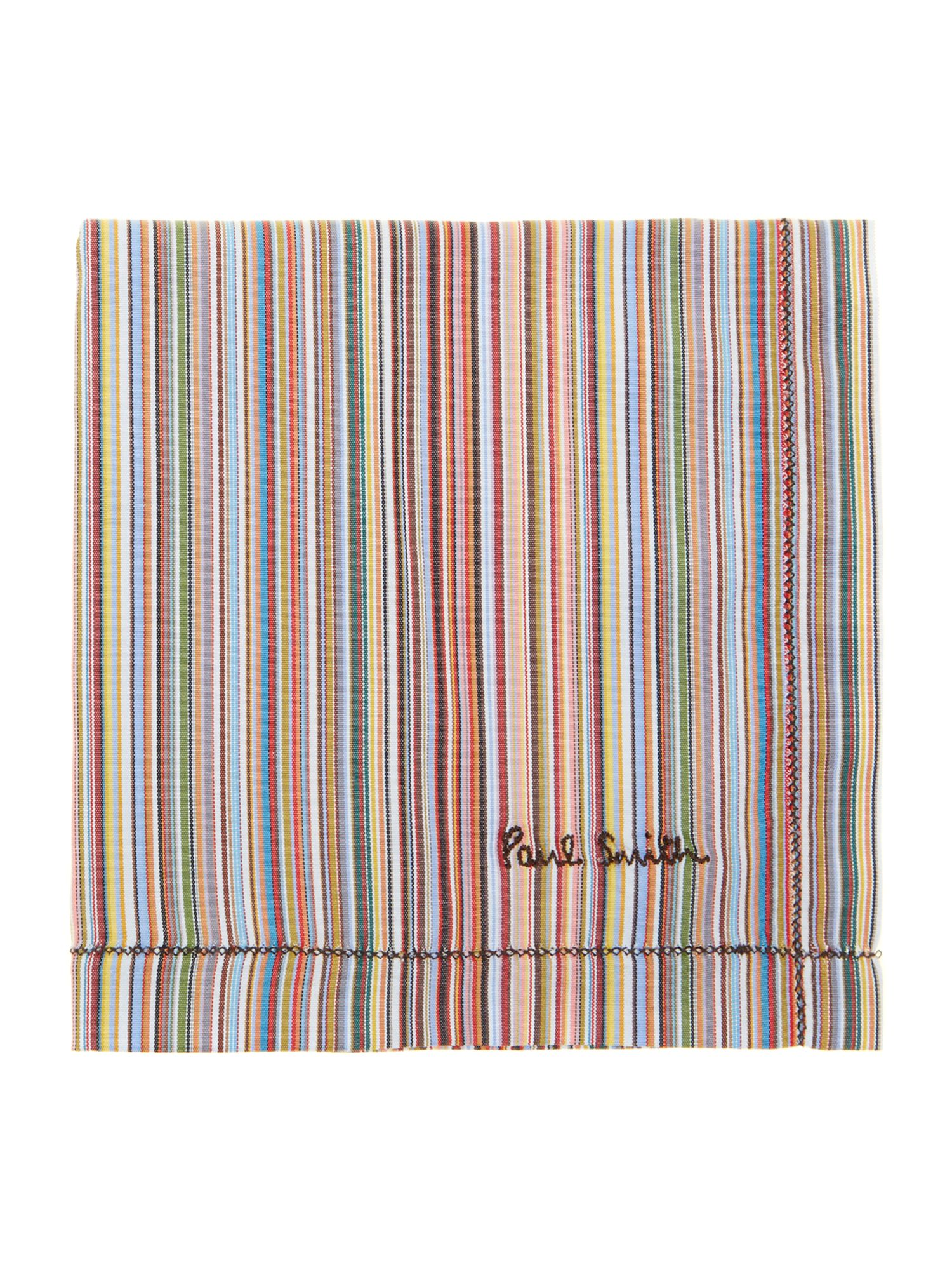 Paul Smith stripe pocket square