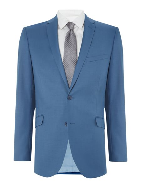 Paul Costelloe Modern Fit Blue Tonic Suit Jacket