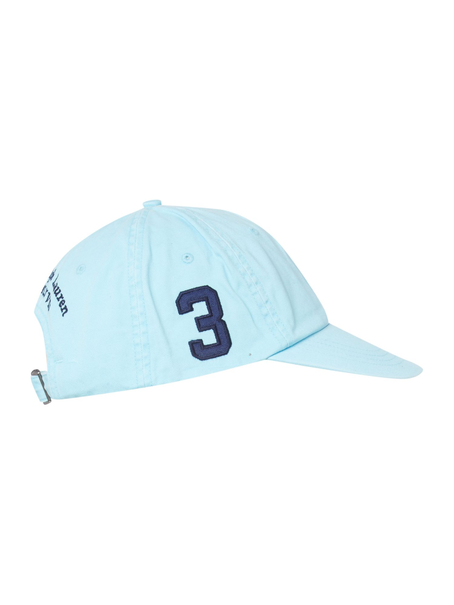 No3 polo pony logo cap