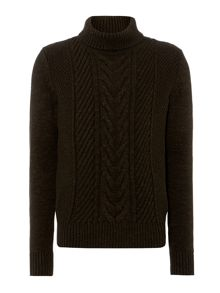 richie cable roll neck