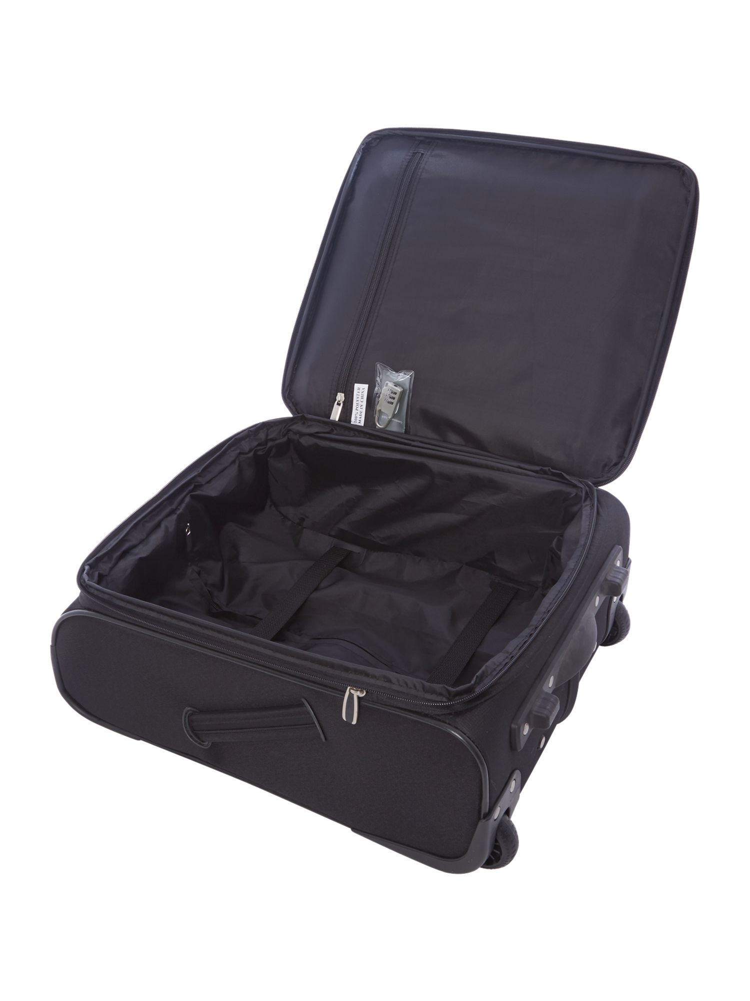 Axial 350 black 2 wheel soft cabin case