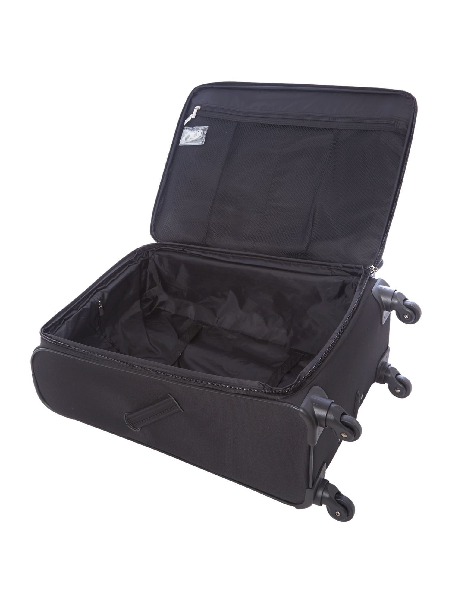 Axial 350 black 4 wheel soft medium case