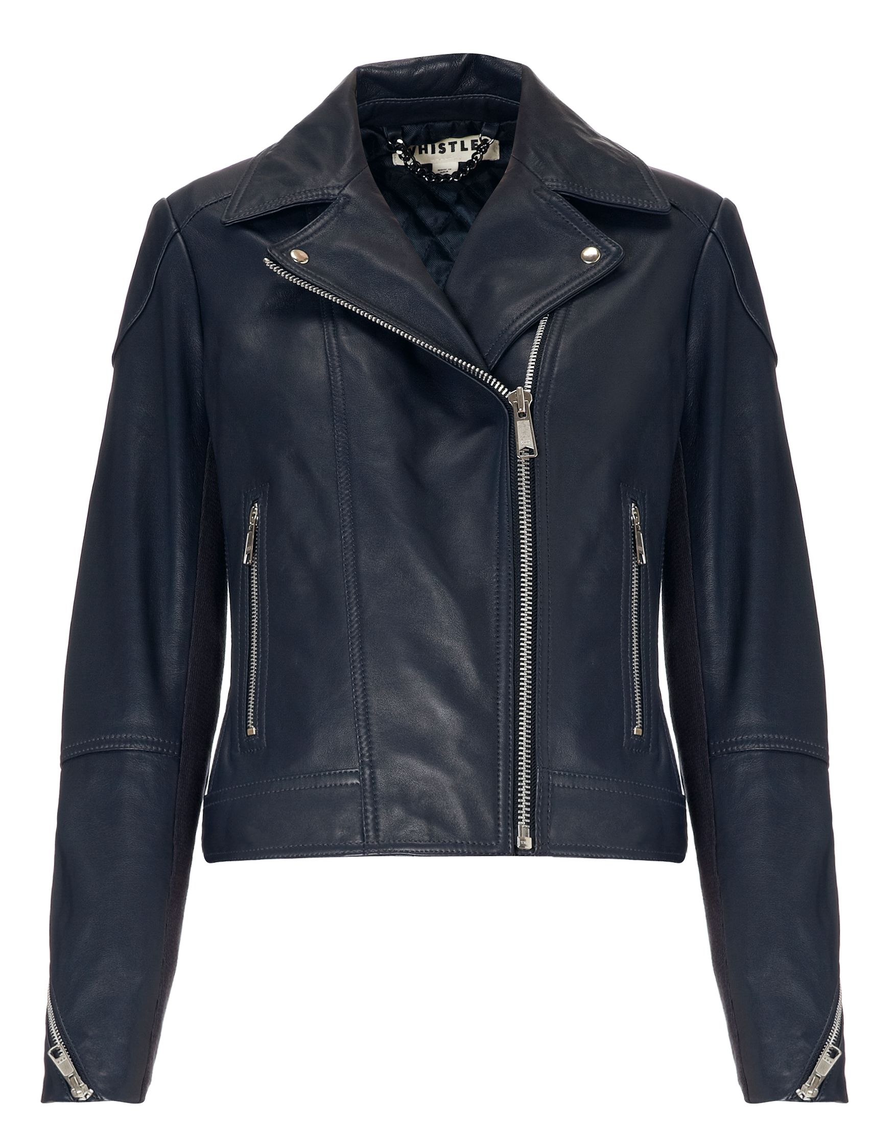 Lita Leather Biker Jacket
