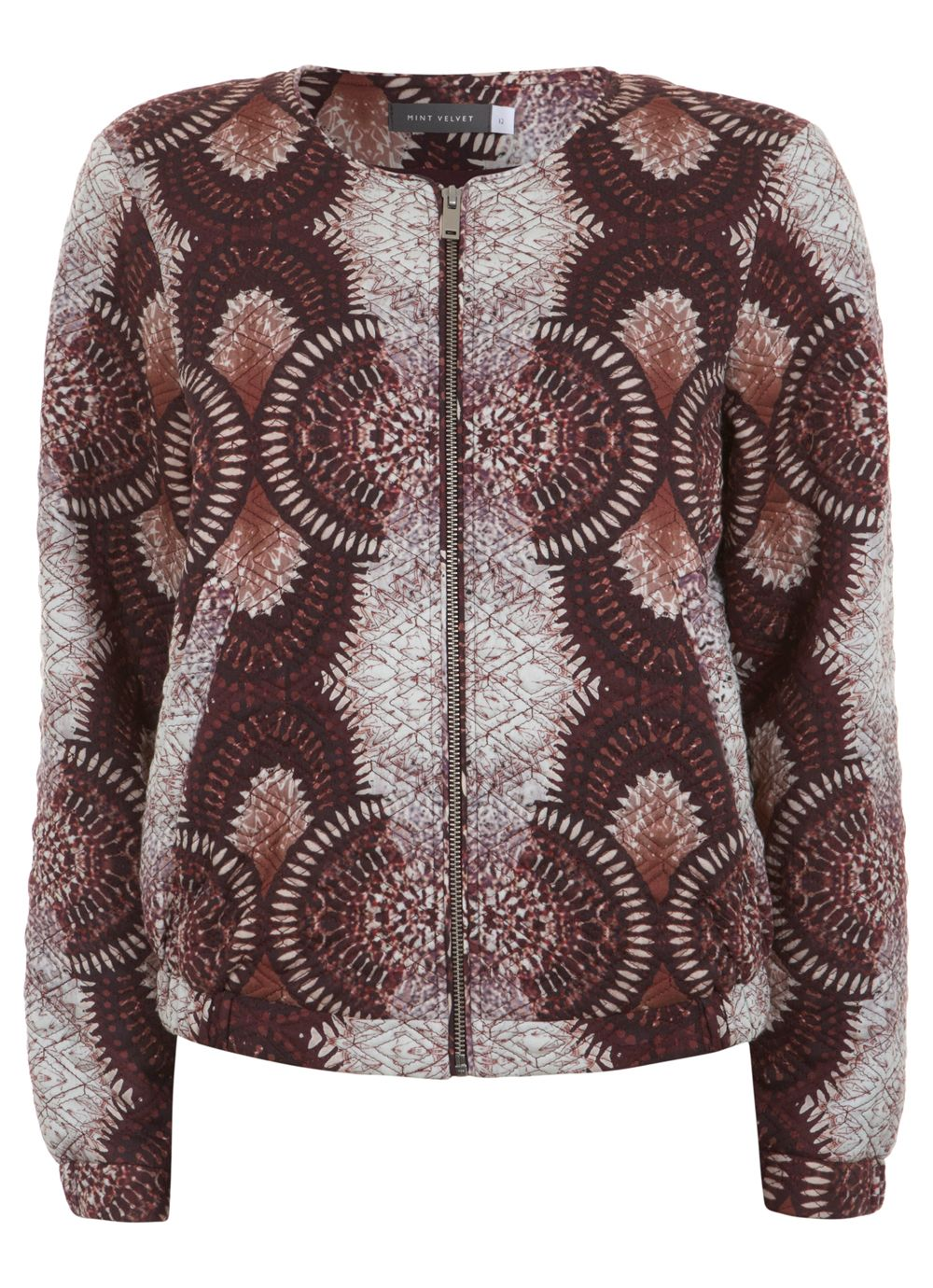 Ellie quilted bomber jacket