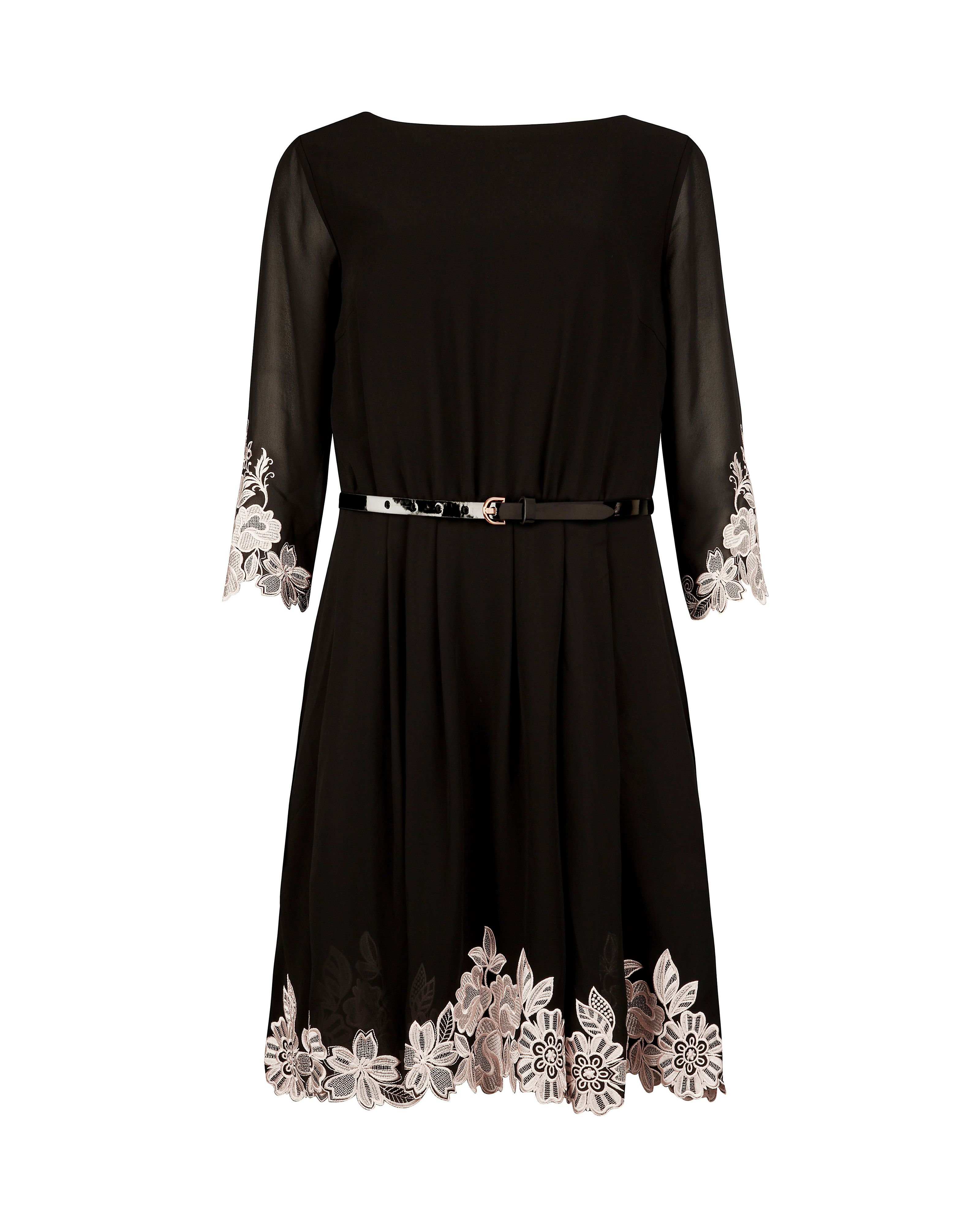 Feay embroidered dress