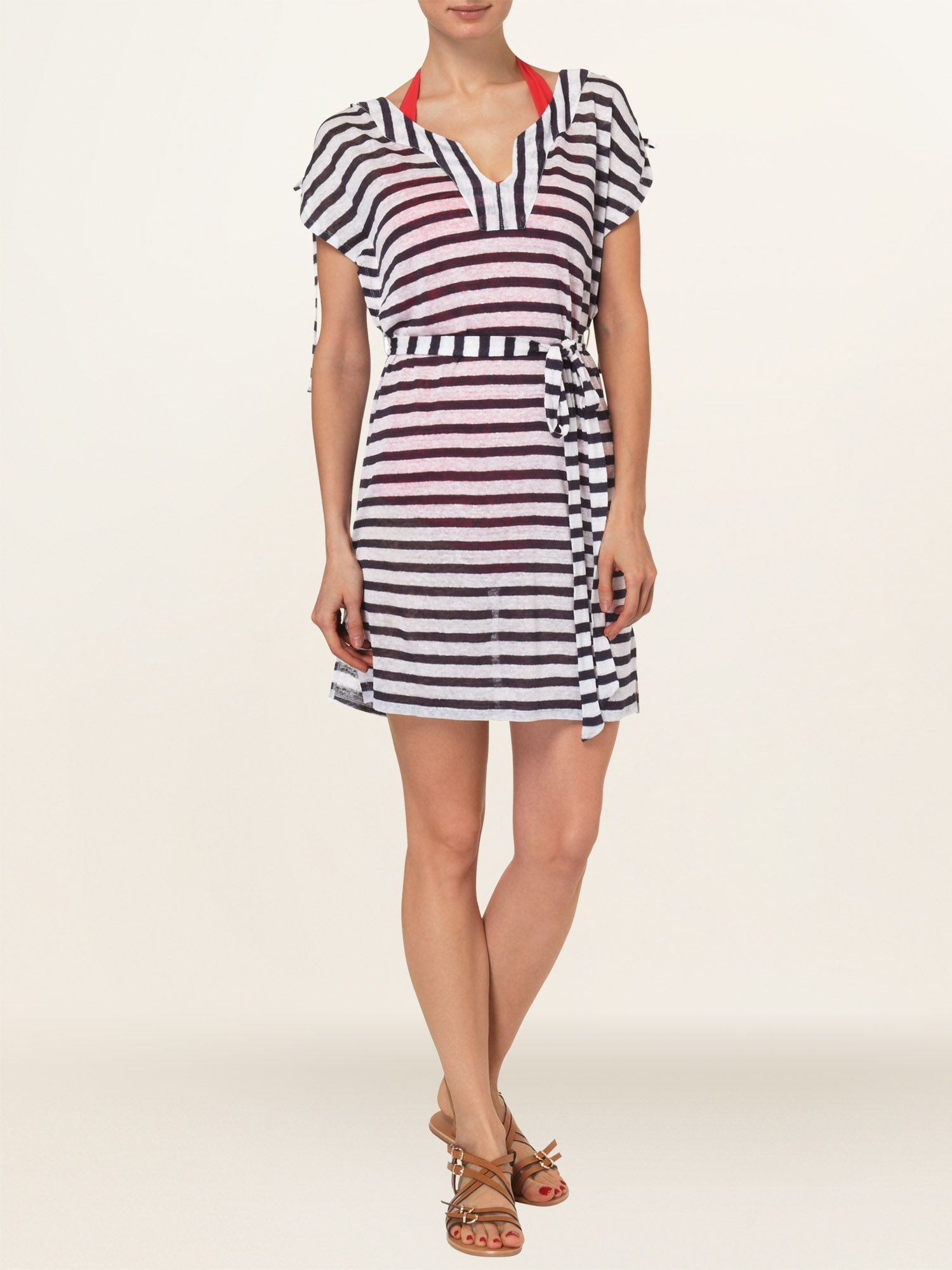 Bianca stripe tunic