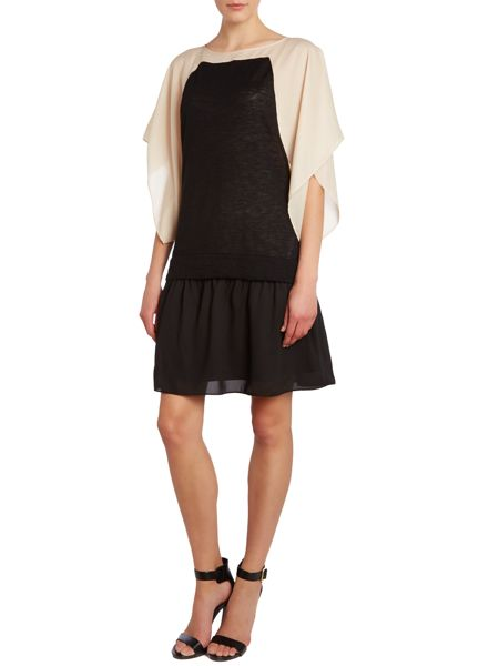 Hoss Intropia Double layered batwing dress