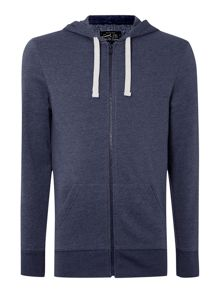 Carlton zip through hoodie