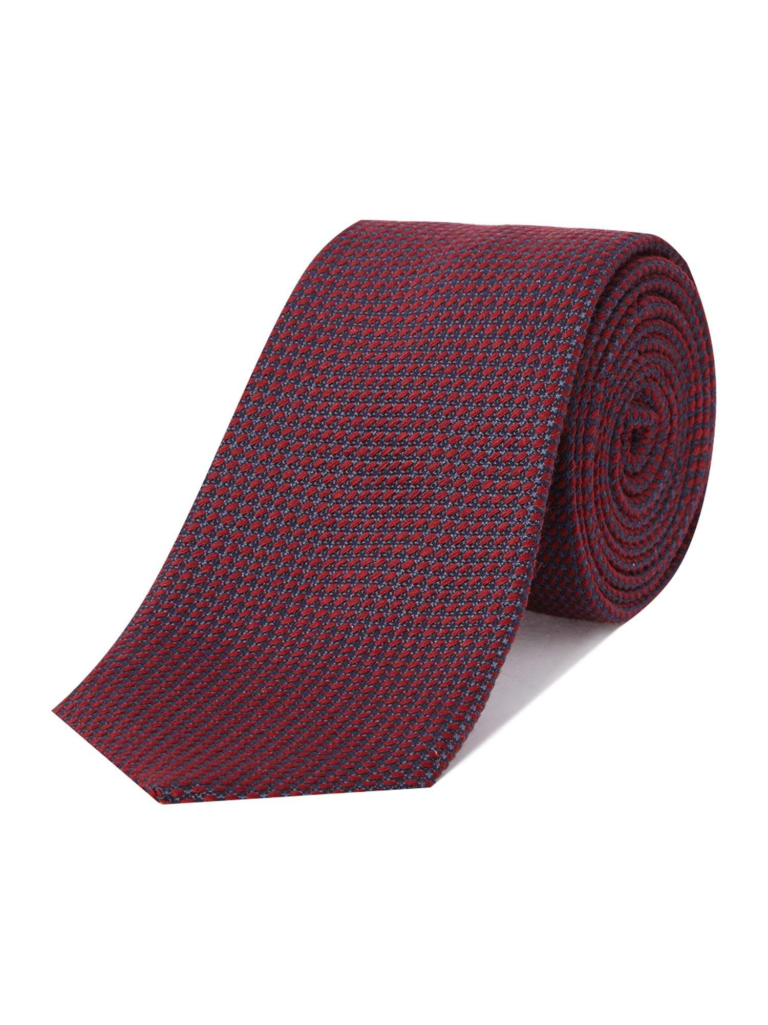 Damaso silk & wool textured tie