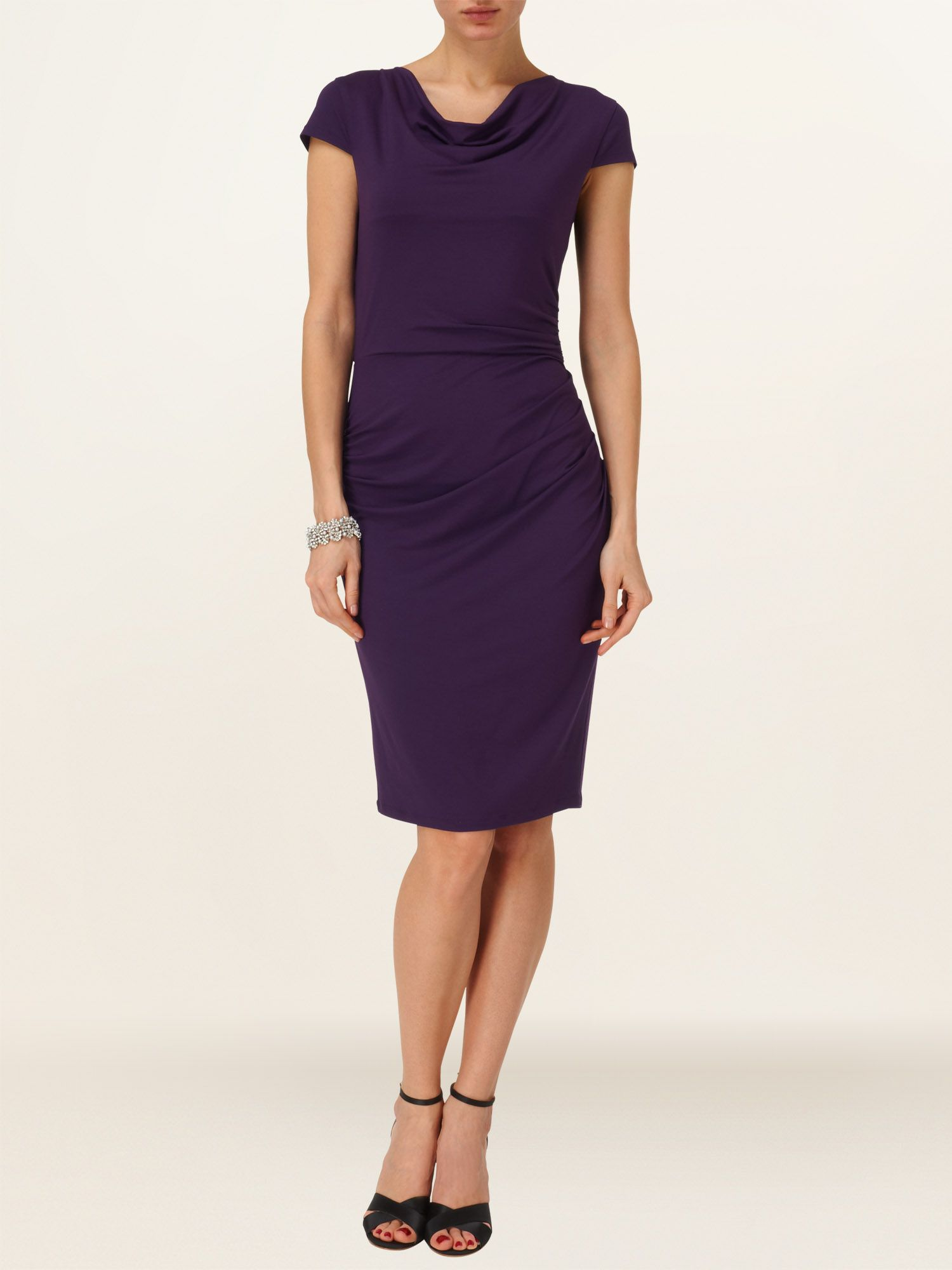 Pamela plain dress