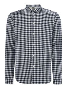 Murray check long sleeved shirt