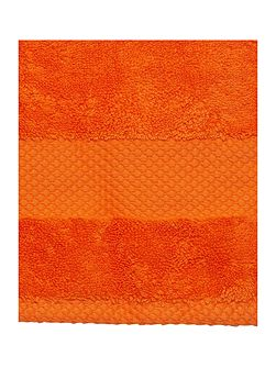 Egyptian Cotton Hand Towel in Orange
