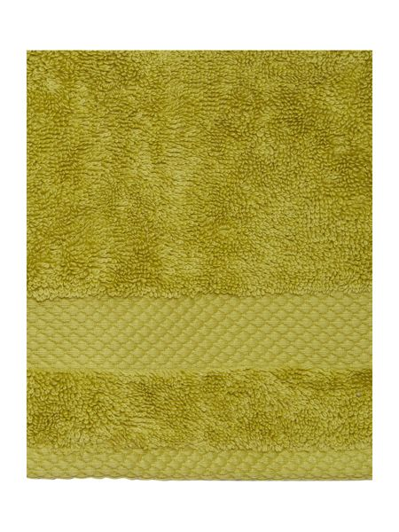 Linea Egyptian Cotton Face Cloth in Lime