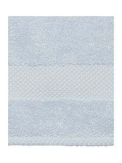 Egyptian Cotton Hand Towel in Sky Blue