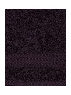 Egyptian Cotton Face Cloth in Aubergine