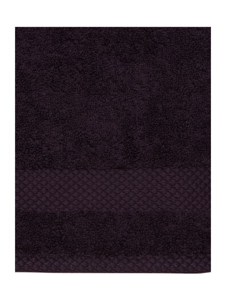 Linea Egyptian Cotton Face Cloth in Aubergine