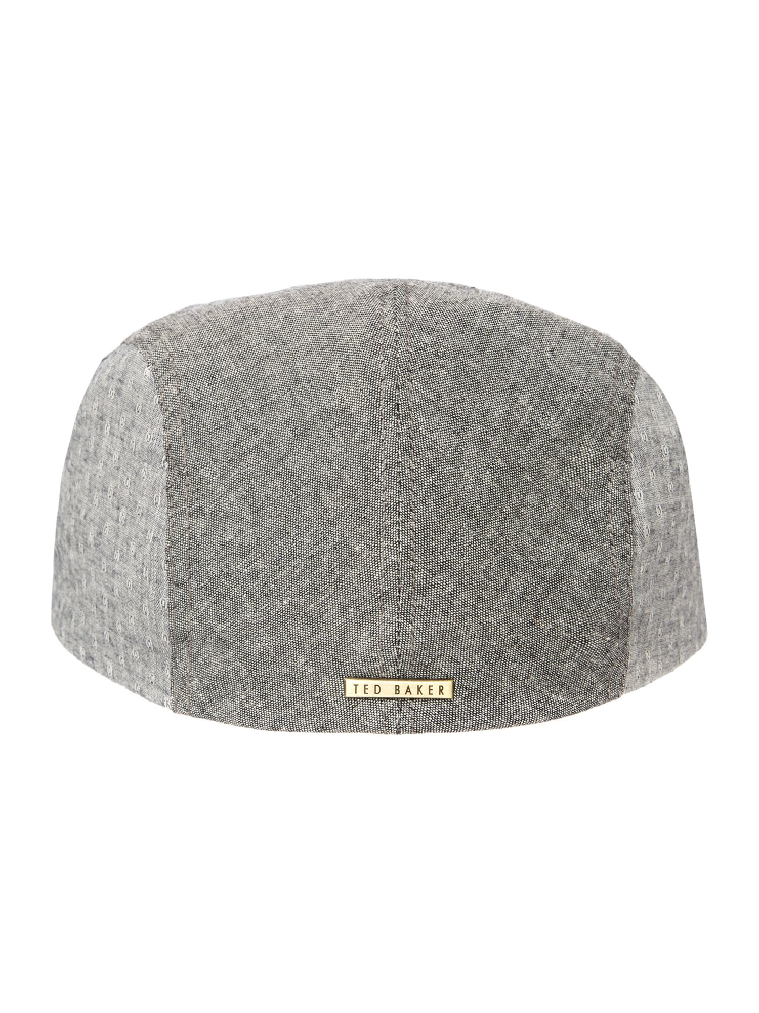 Highlight piping flat cap