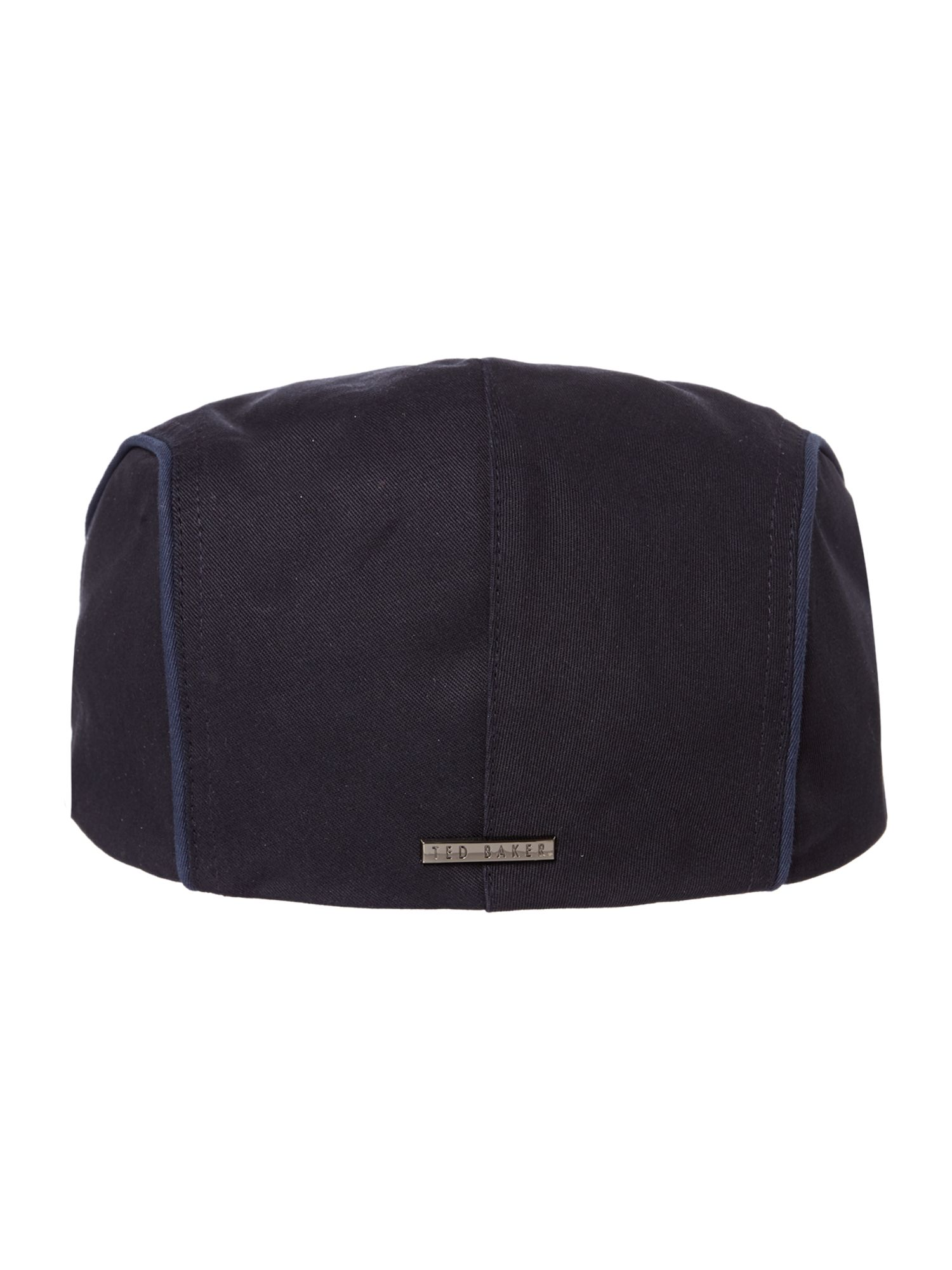 Tonal cotton flat cap