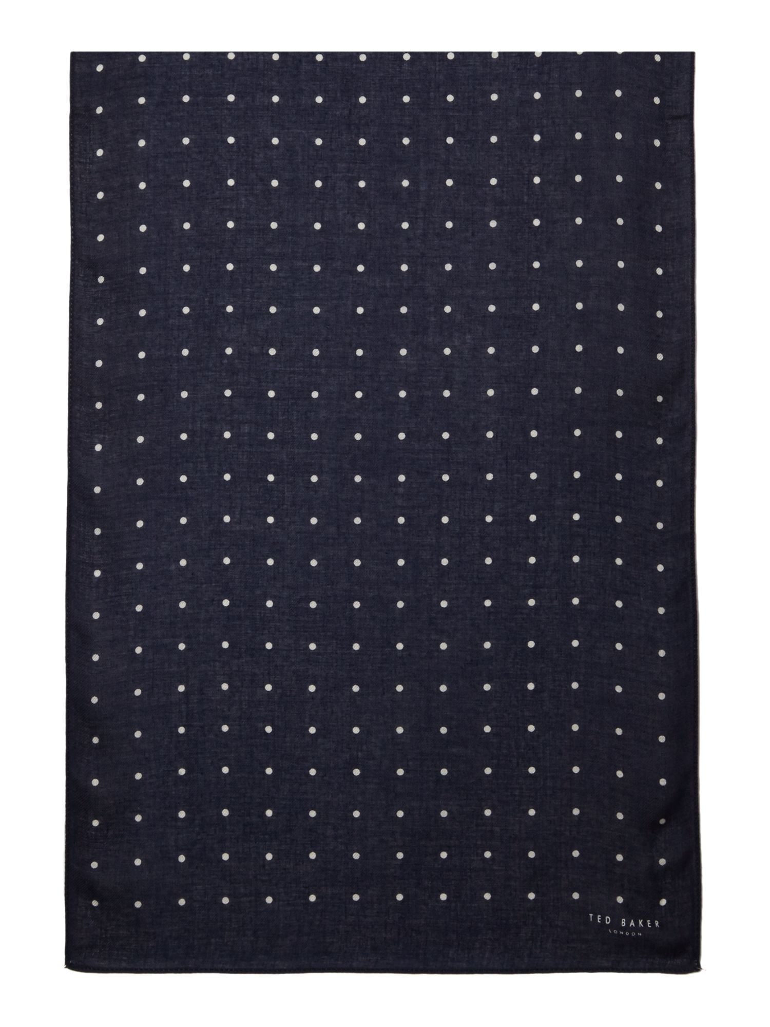 Dot pattern scarf