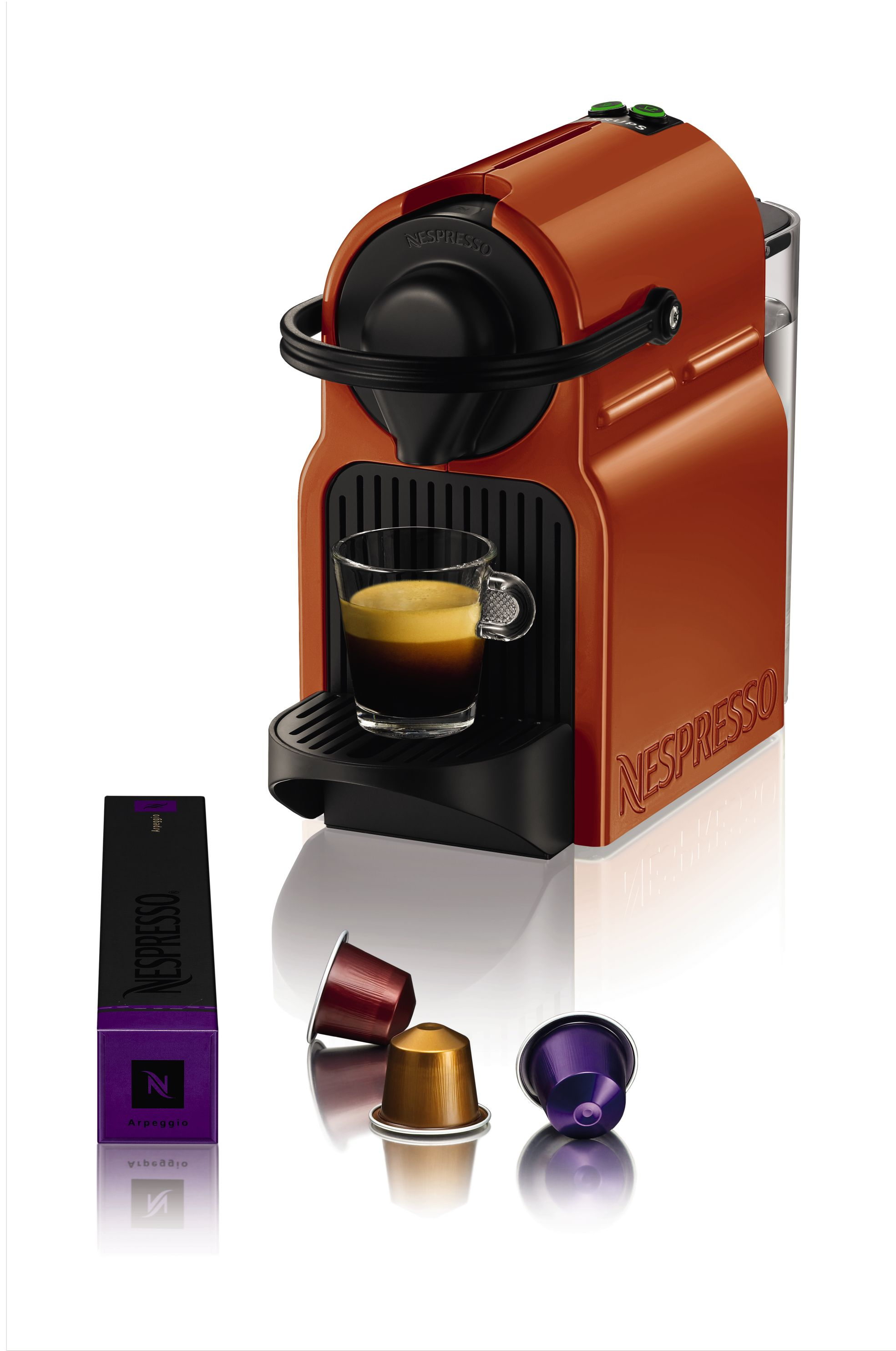 Nespresso Inissia Orange XN100F40